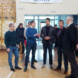 Министар Удовичић посетио Мол, Аду и Сенту
