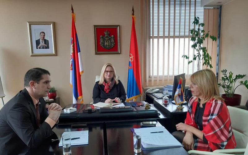 Састанак начелника Банатских округа