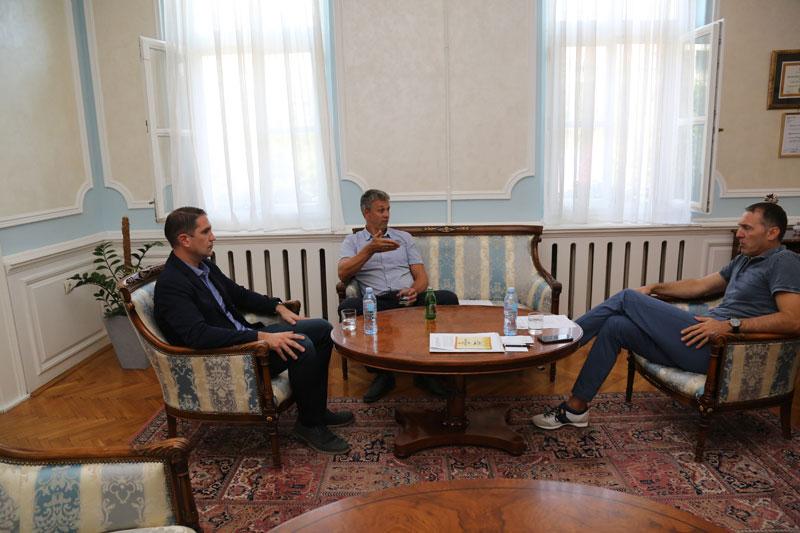 Покрајински секретар за спорт и омладину посетио Кикинду