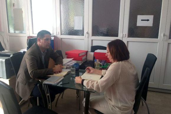 Начелник посетио Центар за социјални рад Ада