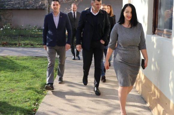 Министар Ђорђевић у посети Сенти