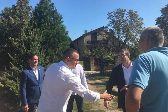 Министар Бранислав Недимовић посетио Падеј