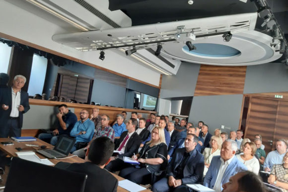Одржан састанак са представницима Управних округа у вези са иницијативом Директората за изградњу, регистрацију и отварање хелидрома
