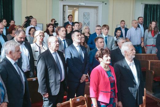 Свечана седница скупштине општине Сента