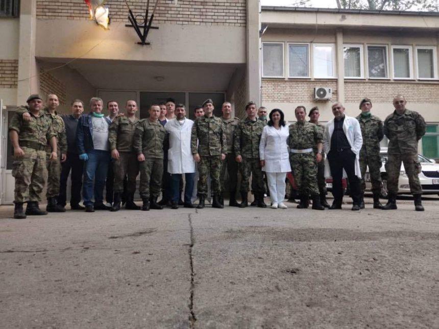 Руска војска дезинфекција