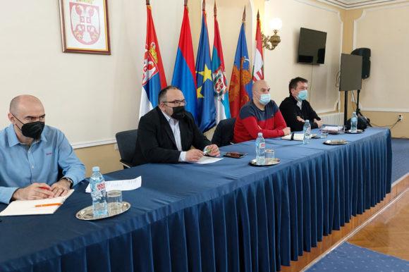 Одржана заједничка седница Окружног Штаба за ванредне ситуације